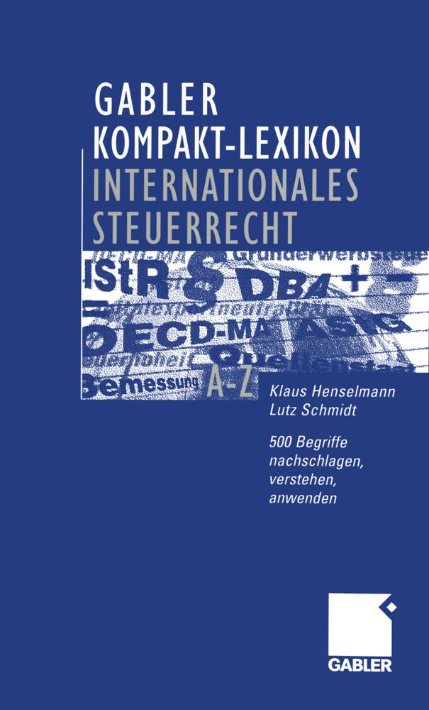 Gabler Kompakt-Lexikon Internationales Steuerrecht als Buch (kartoniert)