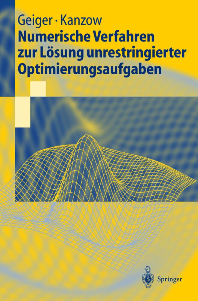 Numerische Verfahren zur Lösung unrestringierter Optimierungsaufgaben als Buch (kartoniert)