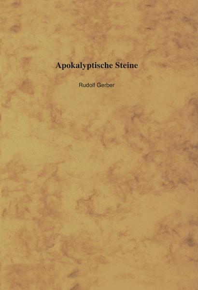 Apokalyptische Steine als Buch (gebunden)