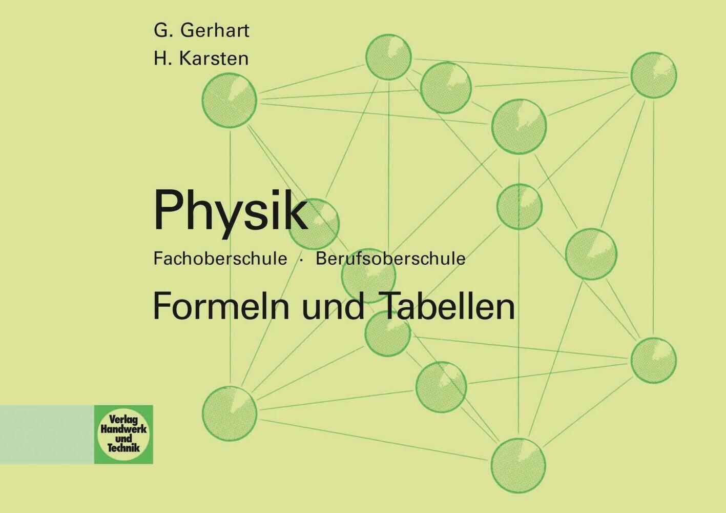 Physik. Formeln und Tabellen als Buch (kartoniert)