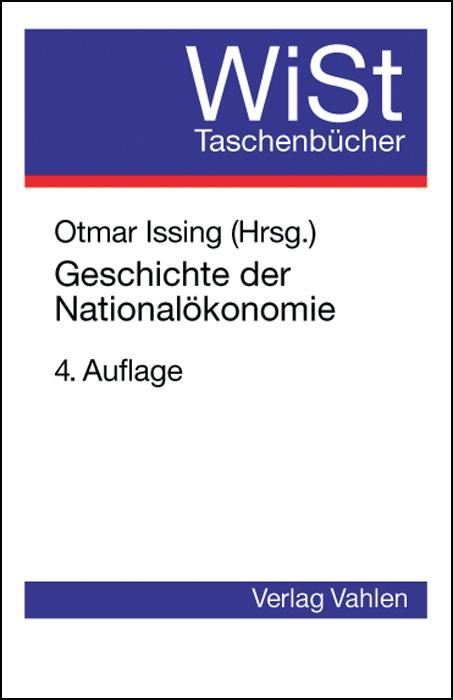 Geschichte der Nationalökonomie als Buch (kartoniert)