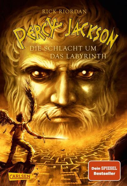 Percy Jackson 04. Die Schlacht um das Labyrinth als Buch (gebunden)