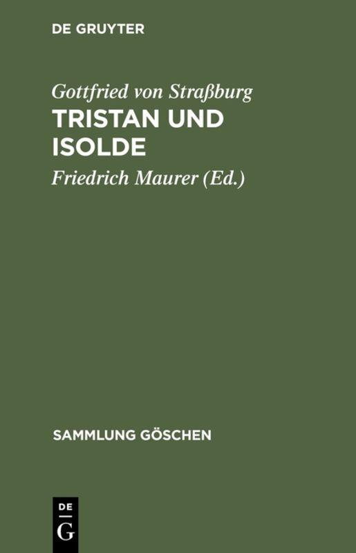 Tristan und Isolde als Taschenbuch