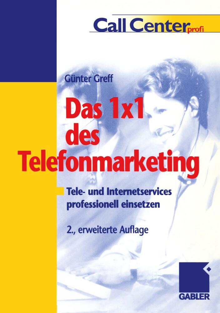 Das 1 × 1 des Telefonmarketing als Buch (kartoniert)