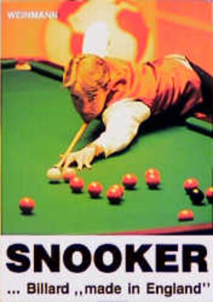 Snooker. Billard 'made in England' als Buch (kartoniert)