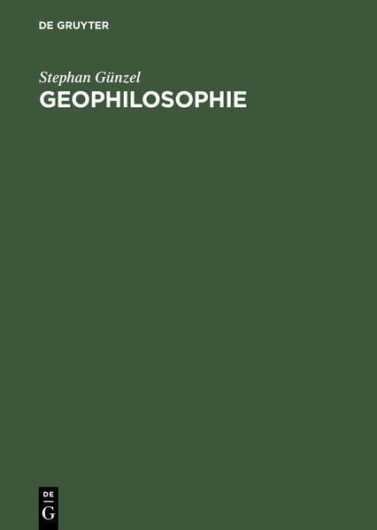 Geophilosophie als Buch (gebunden)
