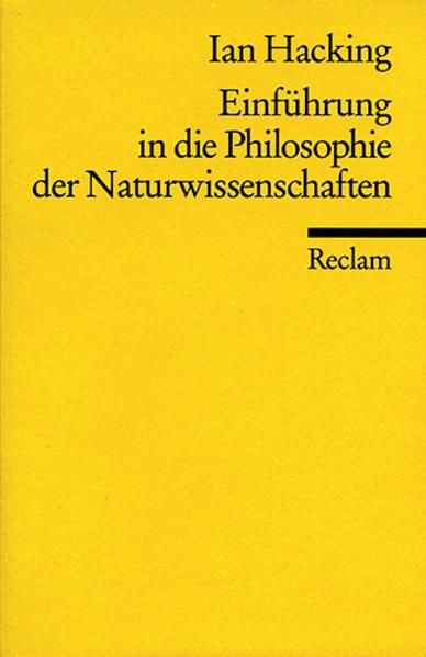 Einführung in die Philosophie der Naturwissenschaften als Taschenbuch