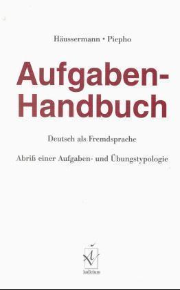 Aufgaben-Handbuch Deutsch als Fremdsprache als Buch (kartoniert)