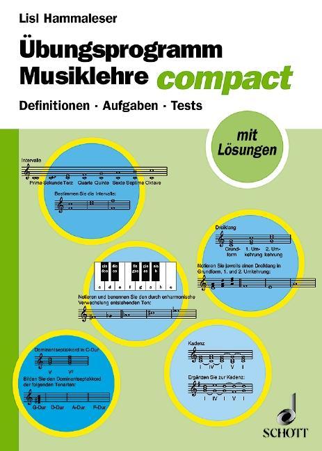 Übungsprogramm Musiklehre als Buch (kartoniert)