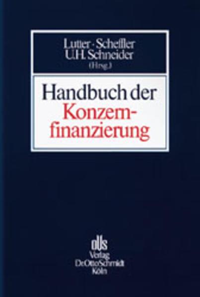 Handbuch der Konzernfinanzierung als Buch (gebunden)