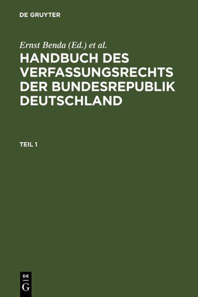 Handbuch des Verfassungsrechts der Bundesrepublik Deutschland als Buch (gebunden)