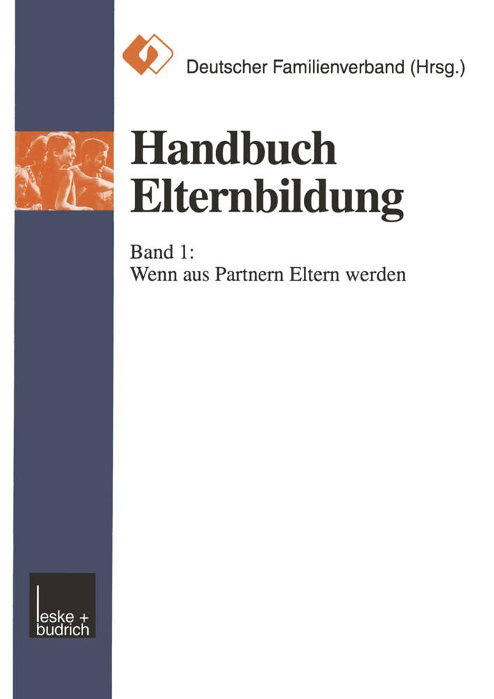 Handbuch Elternbildung als Buch (kartoniert)