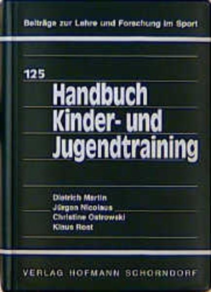 Handbuch Kinder- und Jugendtraining als Buch (gebunden)