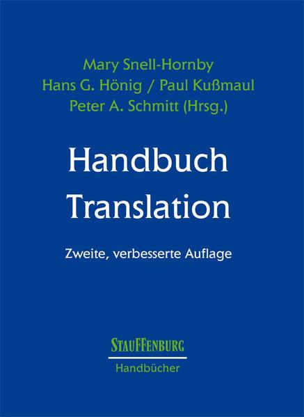 Handbuch Translation als Buch (kartoniert)