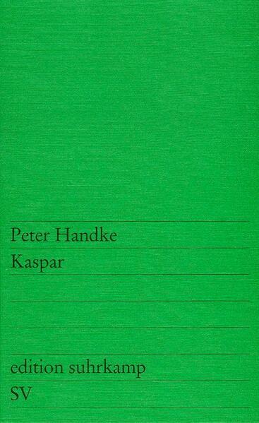 Kaspar als Taschenbuch