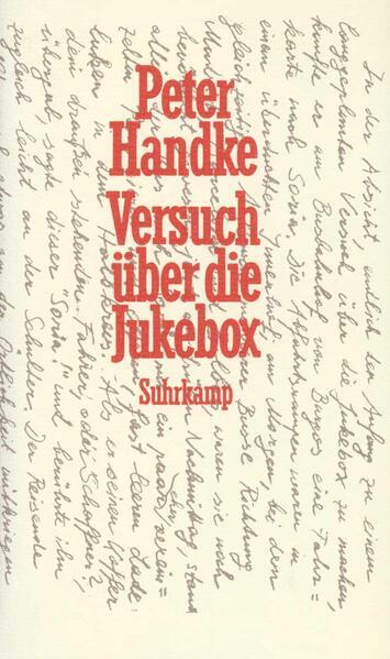 Versuch über die Jukebox als Buch (gebunden)