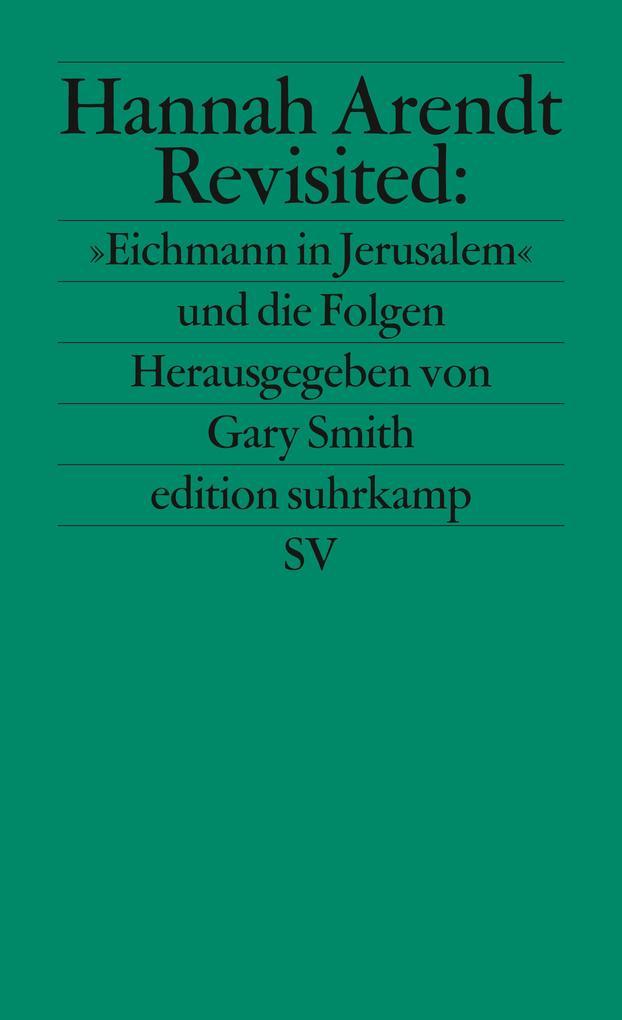 Hannah Arendt Revisited als Taschenbuch