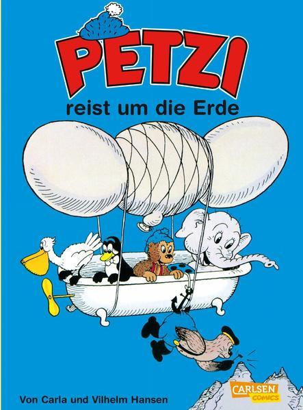 Petzi 11. Petzi reist um die Erde als Buch (kartoniert)