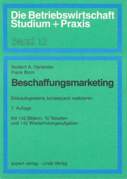 Beschaffungsmarketing als Buch (kartoniert)