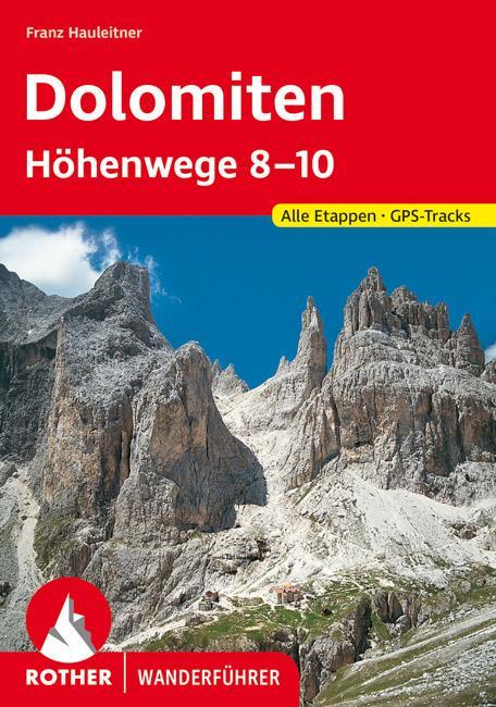 Dolomiten Höhenwege 8-10 als Buch