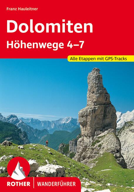 Dolomiten Höhenwege 4-7 als Buch (kartoniert)
