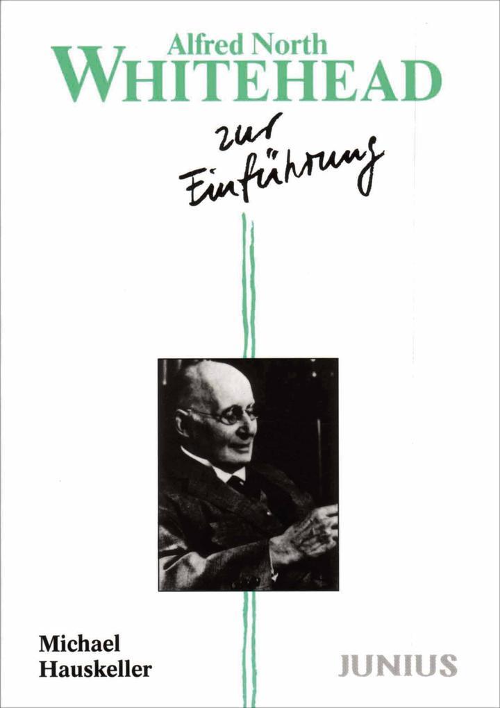 Alfred North Whitehead zur Einführung als Buch (kartoniert)