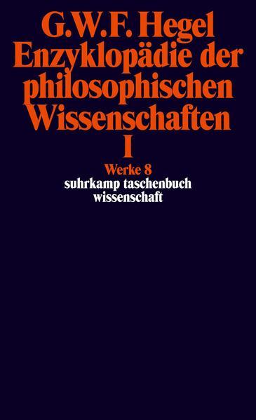 Enzyklopädie der philosophischen Wissenschaften I im Grundrisse 1830 als Taschenbuch