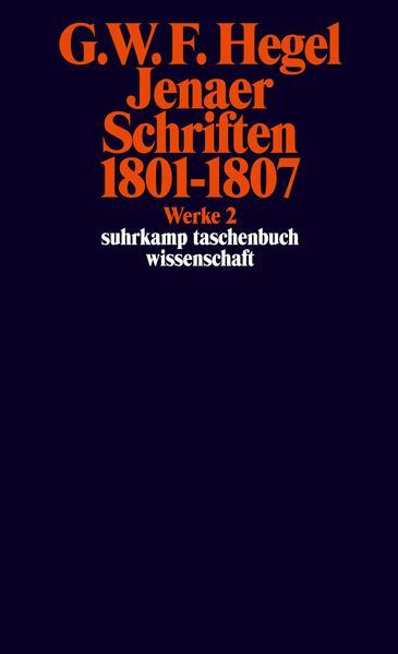 Jenaer Schriften 1801 - 1807 als Taschenbuch