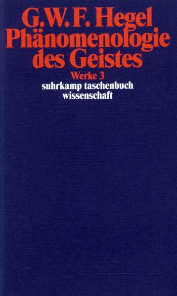 Phänomenologie des Geistes als Taschenbuch