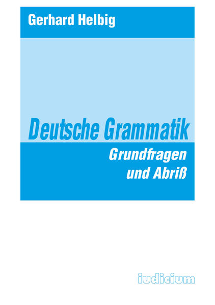 Deutsche Grammatik als Buch (kartoniert)
