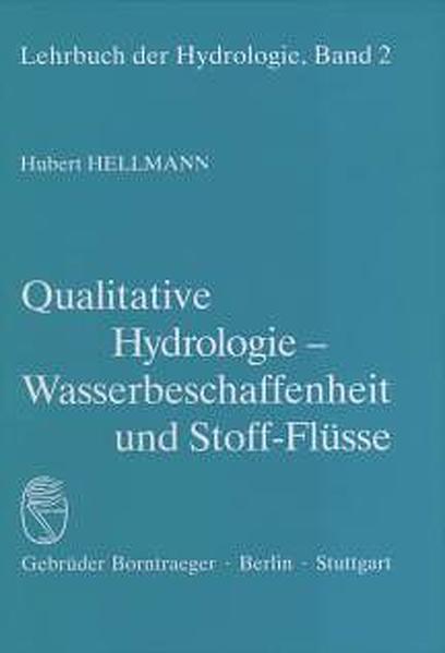 Qualitative Hydrologie als Buch (gebunden)