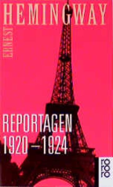 Reportagen 1920 - 1924 als Taschenbuch