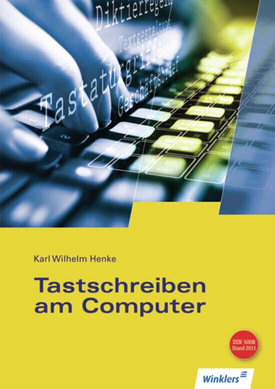 Tastschreiben am Computer als Buch (kartoniert)