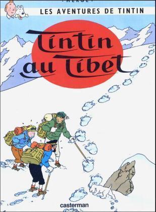 Les Aventures de Tintin 20. Tintin au Tibet als Buch (gebunden)