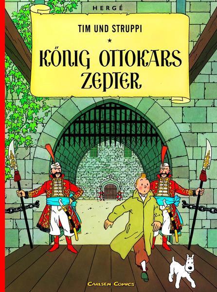 Tim und Struppi 07. König Ottokars Zepter als Buch (kartoniert)