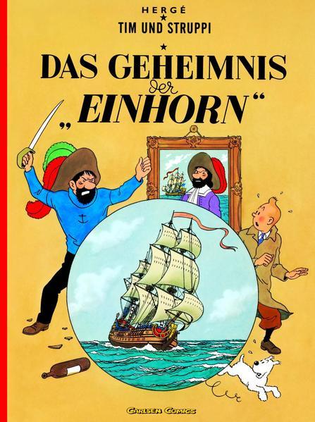 Tim und Struppi 10. Das Geheimnis der Einhorn als Buch (kartoniert)