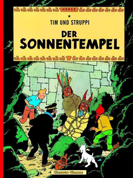 Tim und Struppi 13. Der Sonnentempel als Buch (kartoniert)