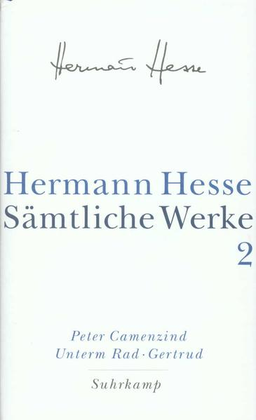 Peter Camenzind. Unterm Rad. Gertrud als Buch (gebunden)