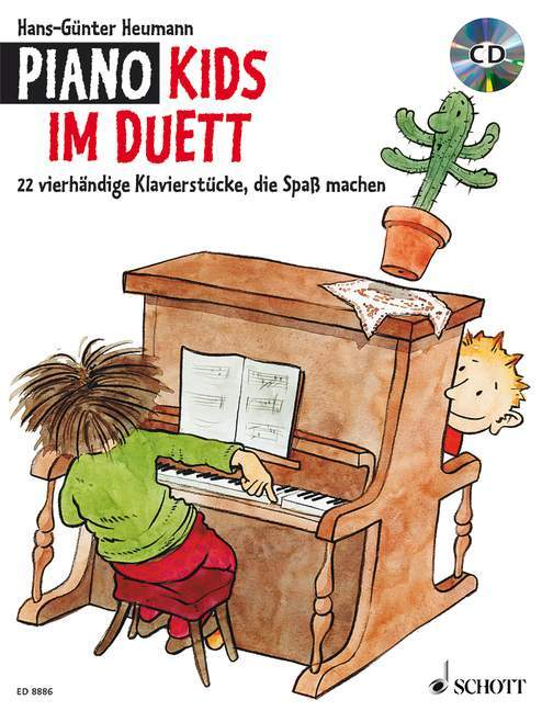 Piano Kids im Duett als Buch