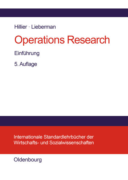 Operations Research als Buch (gebunden)