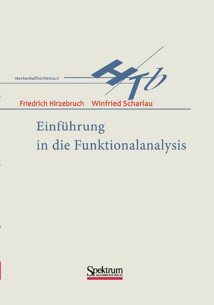 Einführung in die Funktionalanalysis als Buch (kartoniert)