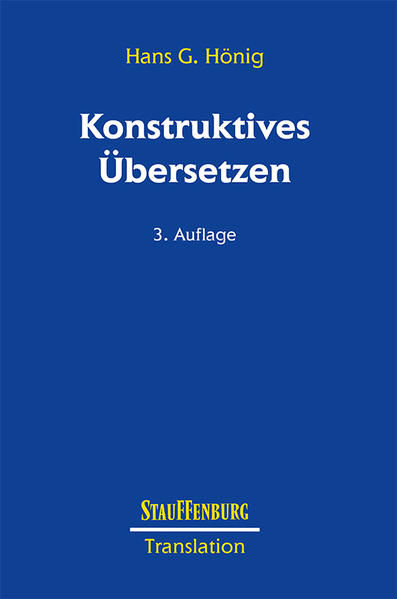 Konstruktives Übersetzen als Buch (kartoniert)