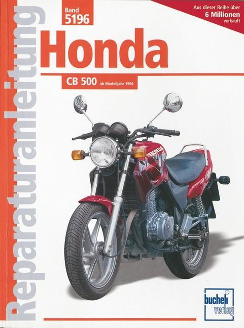 Honda CB 500 als Buch (kartoniert)