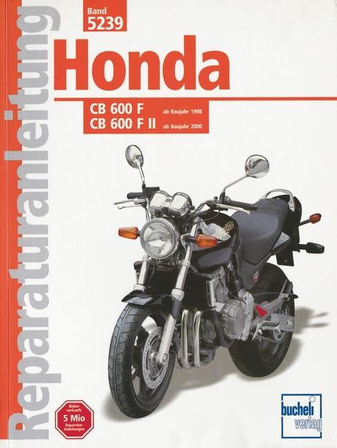 Honda CB 600 F/F II Hornet ab Baujahr 1998 als Buch (kartoniert)