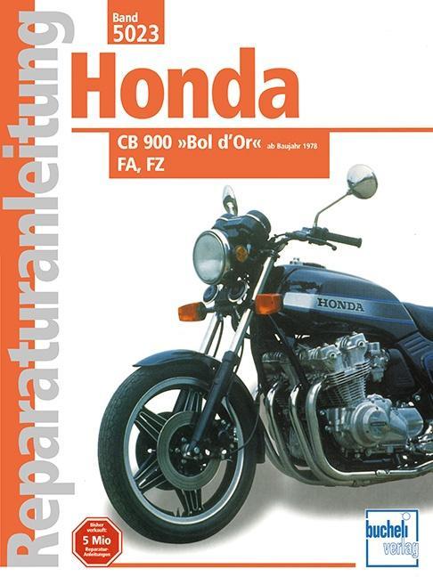 Honda CB 900 »Bol d'Or« FA / FZ (ab 1978) als Buch (kartoniert)