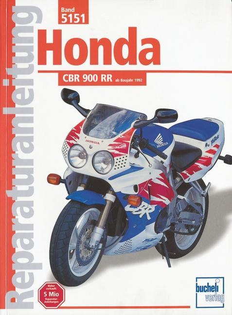 Honda CBR 900 RR ab 1992 als Buch (kartoniert)