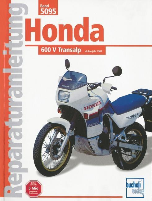 Honda 600 V Transalp ab Baujahr 1987 als Buch (kartoniert)