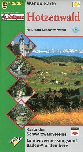 LGL BW 35 000 Wander Hotzenwald Wanderkarte als Blätter und Karten