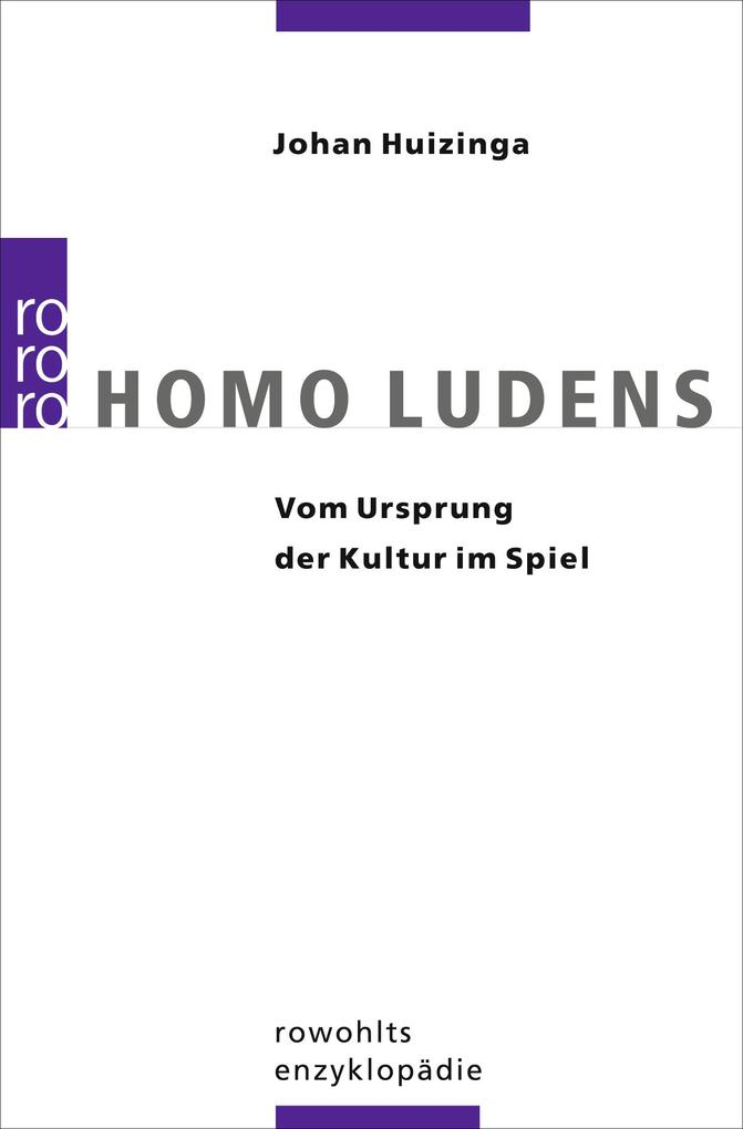 Homo Ludens als Taschenbuch