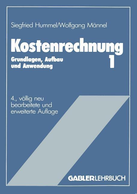 Kostenrechnung 1 als Buch (kartoniert)